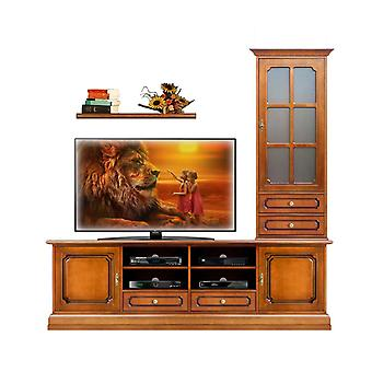 Composition living room TV and showcase