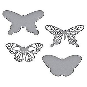 Spellbinders Wandering Butterflies