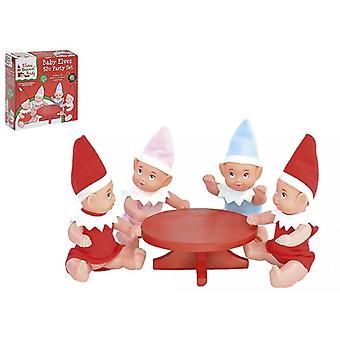 Elves Behavin Badly Elf Baby Party Set - 5 Pieces Including 4 Elf Babies