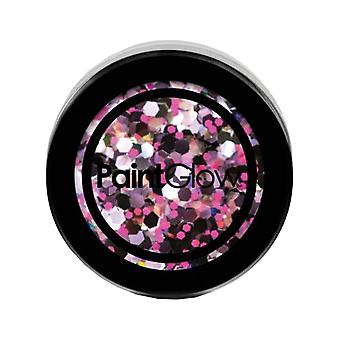 PaintGlow grosso UV olografica Glitter Purple Haze