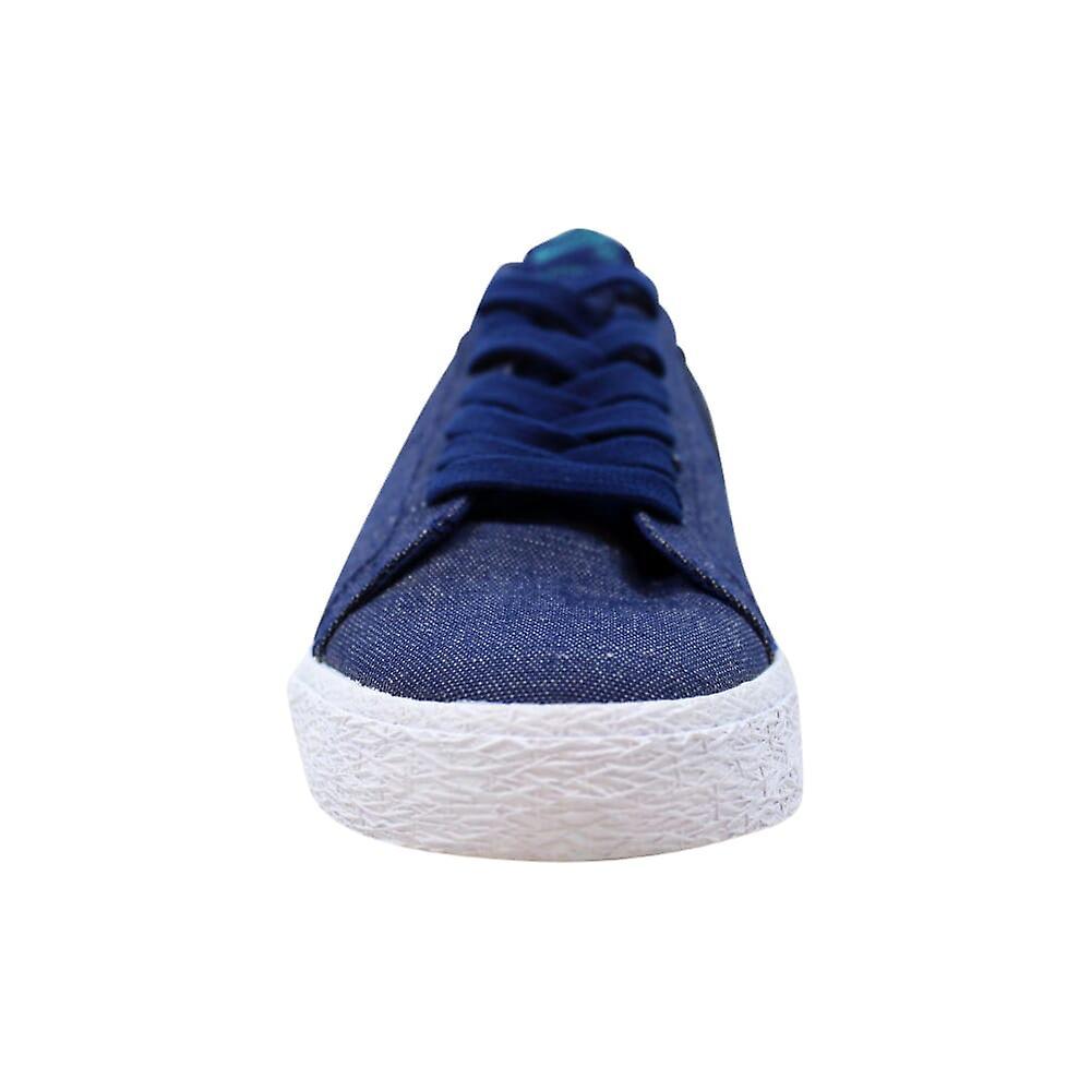 Nike SB Zoom Blazer Low CVNS Decon Blue Void/Geode Teal AH3370-400 Hommes-apos;s