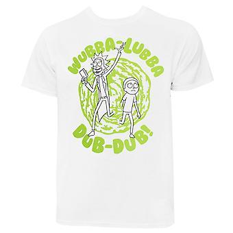 Rick y Morty Wubba-Aubba Dub-Dub! Camiseta