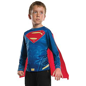 Superman Youth Costume Cape Tee Shirt