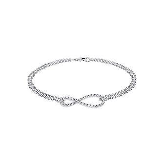 Elli dame armbånd i sølv 925 med Swarovski krystall