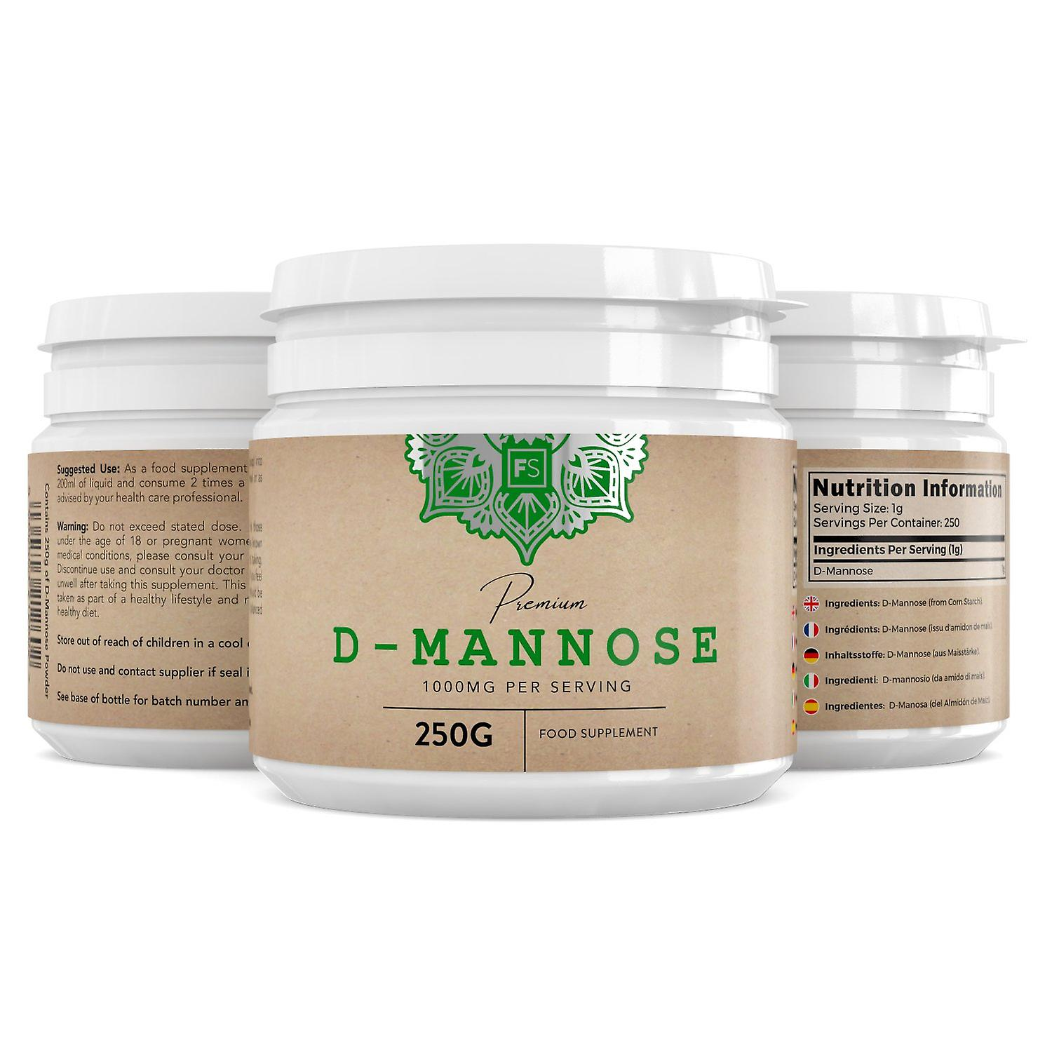 Focus Supplements D-Mannose Pure Powder