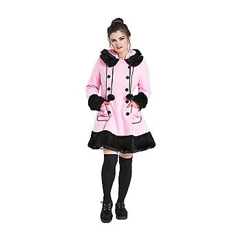 Hell Bunny Pink Sarah Jane Coat L