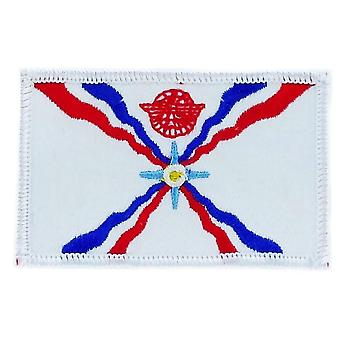 Patch Patch Brode Flag Assyria Assyrian Thermocollant Insigne Blason