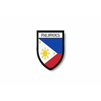 Patch Ecusson Termocollant Bord Brode Drapeau Imprime Philippines Philippin