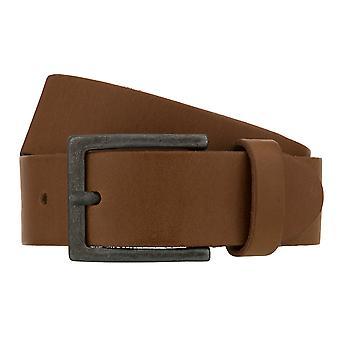 Teal Belt Men's Belt Leather Belt Denim Belt Cognac 8267