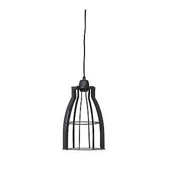 Light & Living Hanging Pendant Lamp D20x35cm Amira Wire Industrial Grey