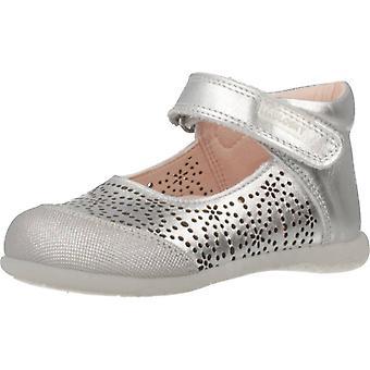 Pablosky schoenen 047450 zilver kleur