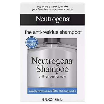 Neutrogena anti-residue shampoo, 6 oz