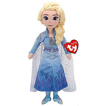 TY Disney Frozen 2 Princess Elsa medium mössa med ljud
