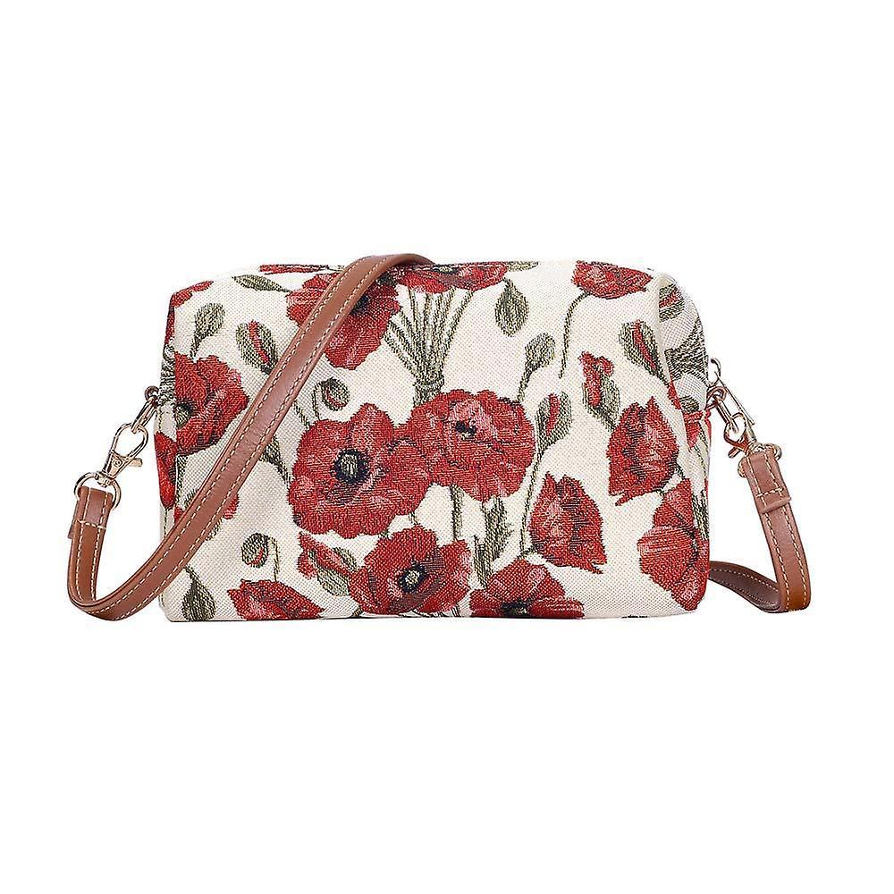 Poppy shoulder hip bag by signare tapestry / hpbg-pop