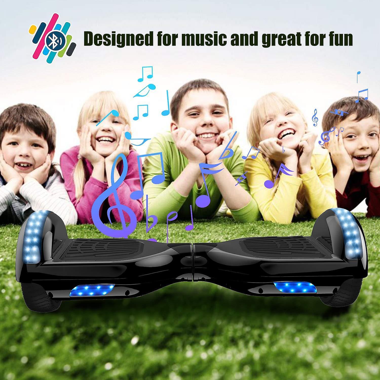 Hoverboard-Segway-elektrisch skateboard-elektrische Hoverboard-700W motor-ingebouwde Bluetooth Speakers-LED-Self gebalanceerde elektrische scooter met CE veiligheidssysteem-nieuwe Design2020 Bluetooth Hoverboard