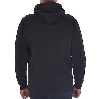 Kappa Herre autentisk Esmio slim fit sweatshirt hoody hoodie-sort/guld