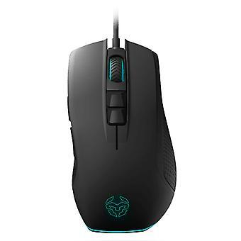 LED Gaming Mouse Krom KENON Black Blue