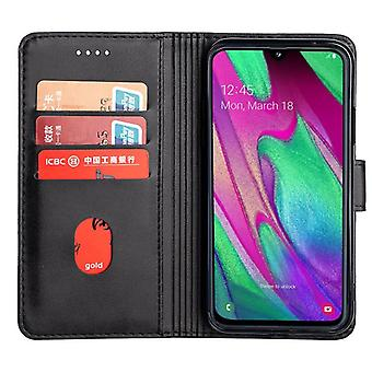 CaseGate phone case case cover for Samsung Galaxy A40 case cover - lock, stand function and card compartment
