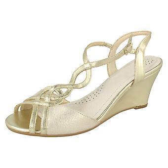 Ladies Van Dal Glamorous Wedge Sandals Shalimar