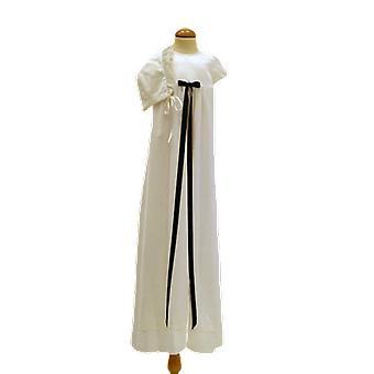 Doop jurk met Dophätta en slanke marineblauw Bow Pr.la