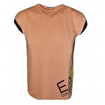 EA7 Girls Peach T-shirt