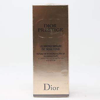 Dior Prestige Illuminating Micro-Nutritive Eye Serum  0.5oz/15ml New In Box