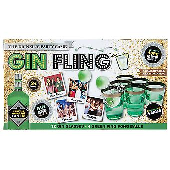 Christmas Shop Gin Fling Drinking Game