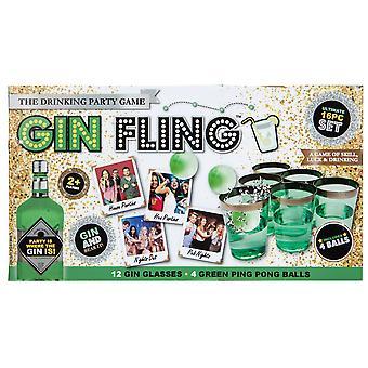 Weihnachts-Shop Gin Fling Trinkspiel