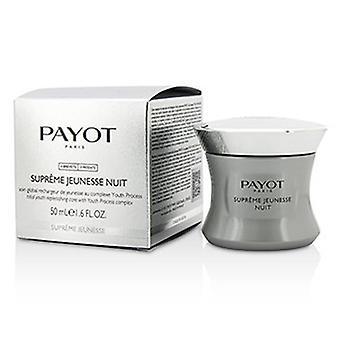 Complesso di processo giovanile Payot Supreme Jeunesse Nuit - Per pelli mature 50ml/1.6oz