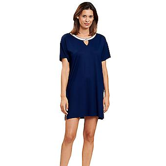 Féraud 3205102-10063 Women's Navy Blue Beach Dress