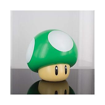 Lâmpada palado Super Mario 1 UP Mushroom Light - Multi-Colour