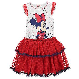 Character Kids Play Dress Girls Short Sleeve Midi Summer Party Dress Casual