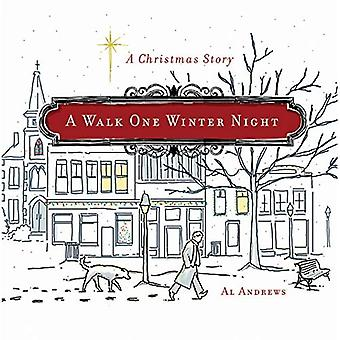 Ein Spaziergang eine Winternacht
