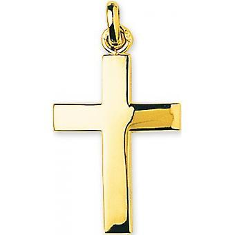 Pendentif  croix Or 375/1000 jaune  (9K)