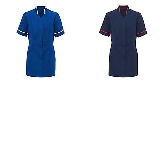 Alexandra Womens Mandarin Collar Tunic / Health Beauty / Medical Workwear (Pack of 2)