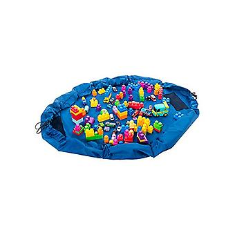 Blue Kids Waterproof Portable Toy Tidy Storage Bag Play Drawstring Bag Play