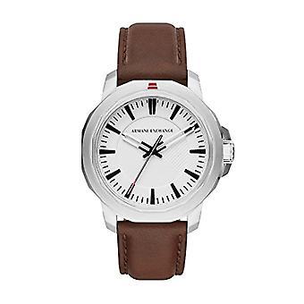 Armani Exchange Analog quartz men's watch with leather AX1903