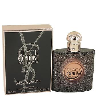 Schwarzen Opium Nuit Blanche Eau De Parfum Spray von Yves Saint Laurent 1,7 oz Eau De Parfum Spray