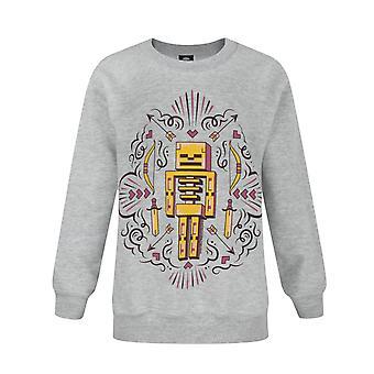Minecraft Skelly Drømmer Skjelett Jente's Sweatshirt