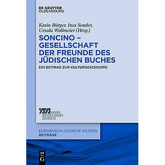 Soncino  Gesellschaft der Freunde des jdischen Buches by Brger & Karin