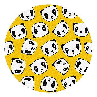 Kids Rug - Panda - Wasbaar - Cirkel 115 cm