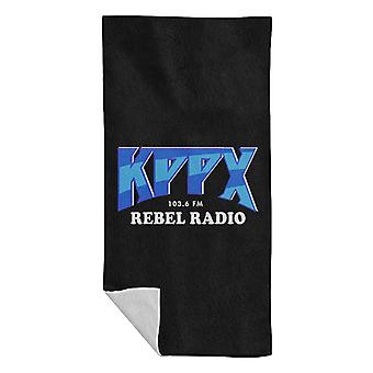 KPPX Rebel Radio Airheads Beach Handduk