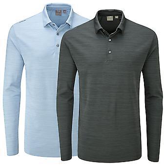 Ping Collection Mens Golf Corey Long Sleeve Polo Shirt