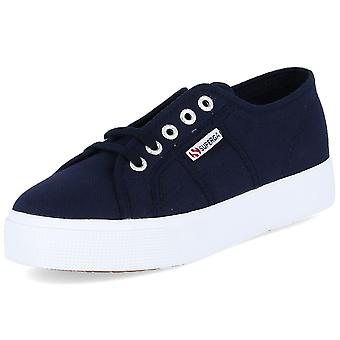 Superga Cotu S00C3N02730COTUF43navywhite universal all year women shoes