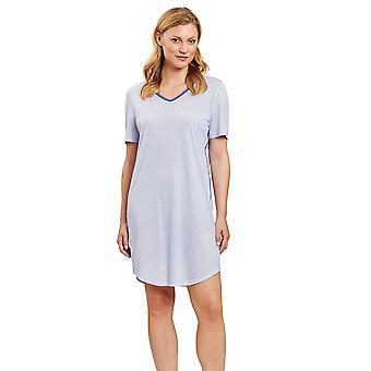 Rösch 1203256-12560 Nők&s Pure Minimal Blue Nightdress