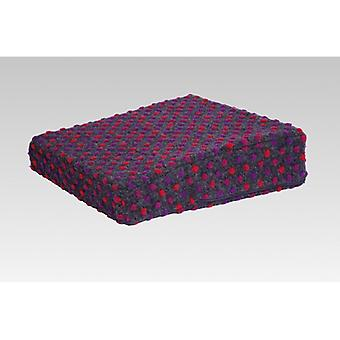 Stand-up help cushion seat boost anthracite-coloured of 40 x 40 x 10/6 cm