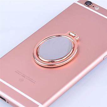 Universal 2 in 1 mirror ring bracket 360° rotation phone holder desktop stand