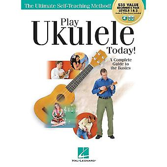Play Ukulele Today  A Complete Guide to the Basics Beginners Pack Levels 1 amp 2 Audio amp Video Included by Barrett Tagliarino & Contributions by Scott Houghton & Contributions by Billy Burke