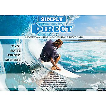 50 x Simply Direct Pre-Cut 7