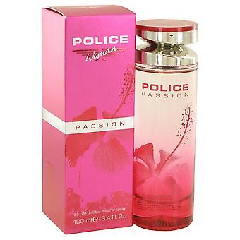 Police Passion Eau De Toilette Spray By Police Colognes 3.4 oz Eau De Toilette Spray
